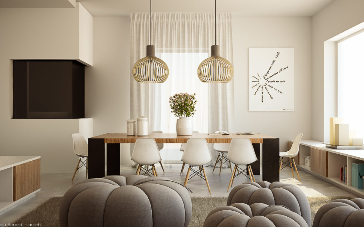 warm living room - Arceb - Emanuela Berardi: Interior Design e ...