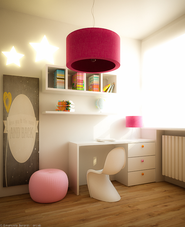 small girl bedroom
