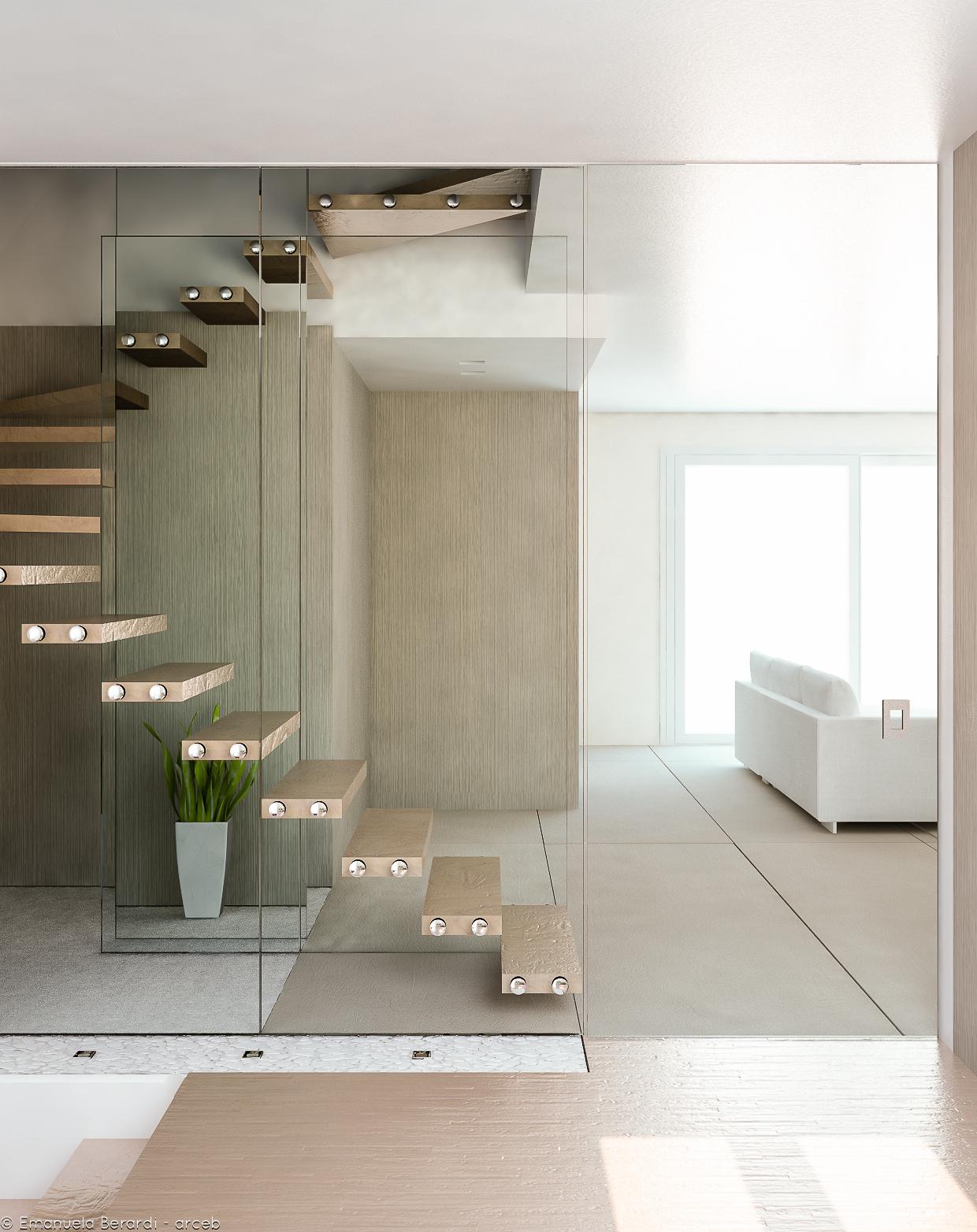 Render progetto Appartamento, Cesena, Italy