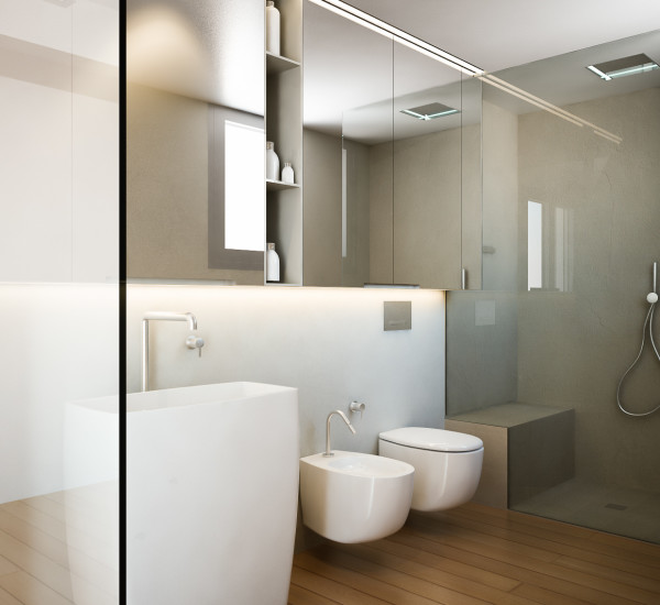 Il Bagno – Render e Modellazione 3D – Ambiente Bagno e Sanitari