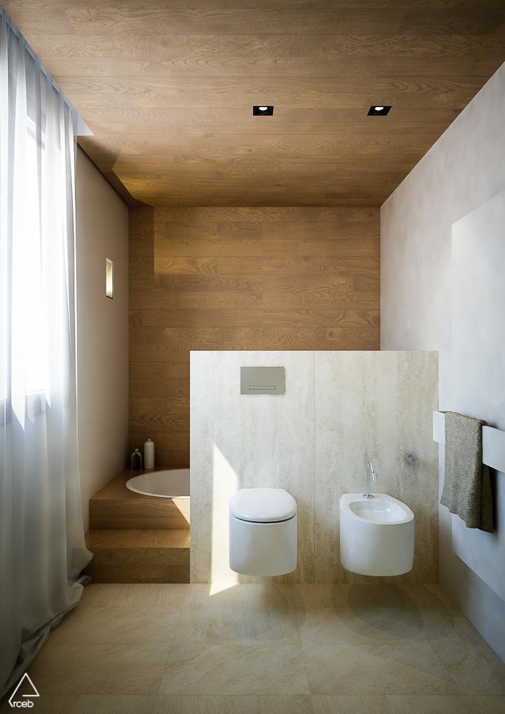 Due bagni ed una scala arceb emanuela berardi for Bagni design 2016