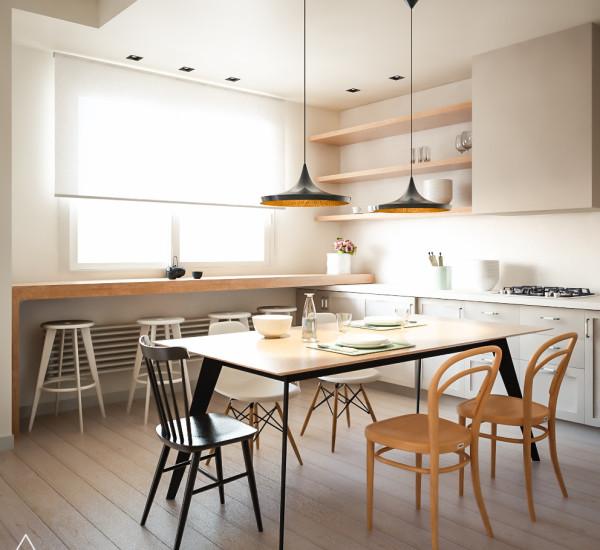 Casa SL – Restyling per un appartamento anni 70 – Interior Design, Modellazione 3D e Render Fotorealistici