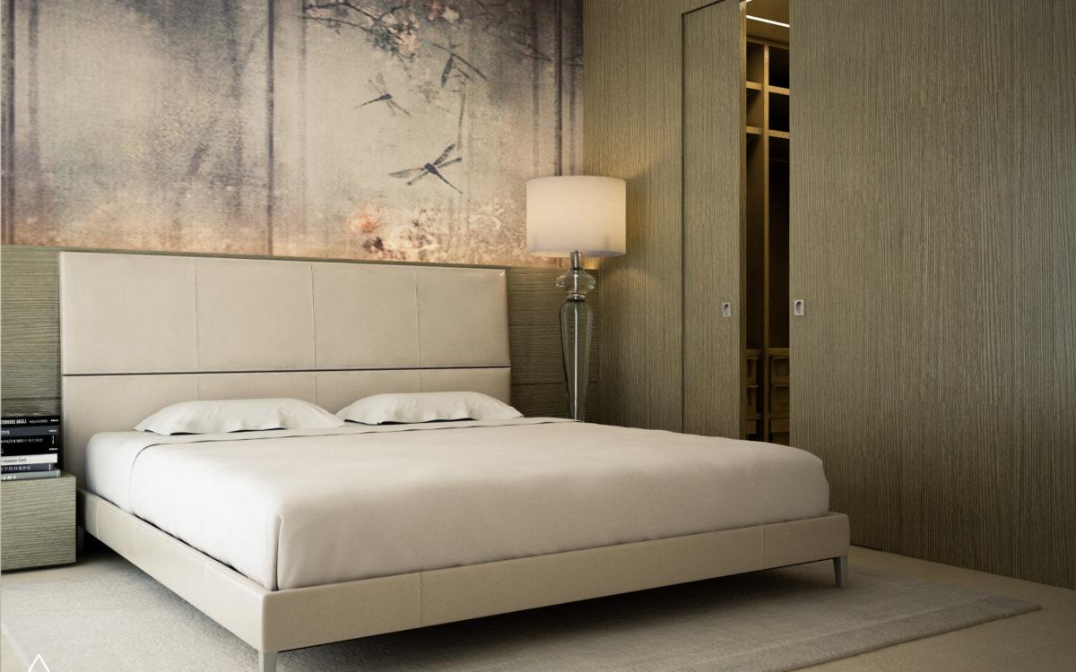 Render di Progetto - Camera da letto