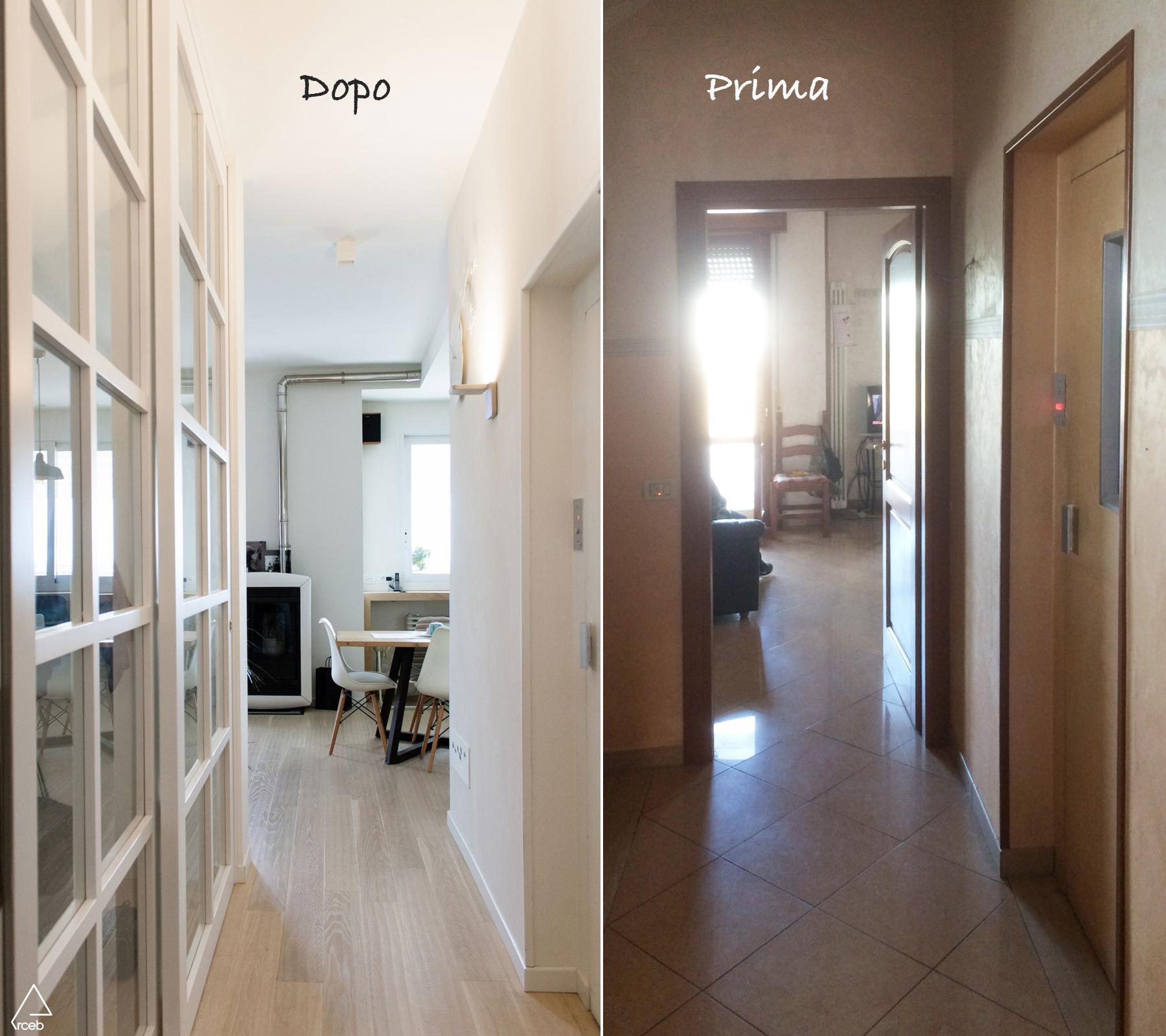 Un appartamento anni 70 rinnovato: prima e dopo!