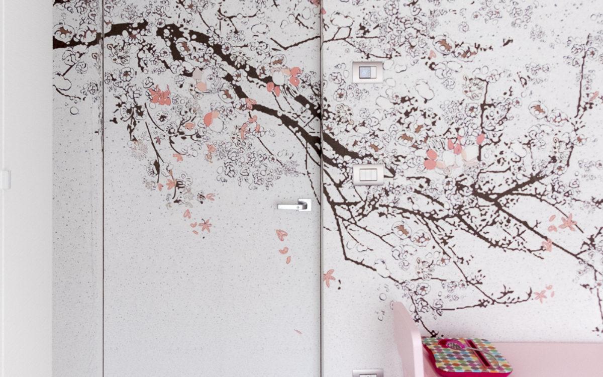 kid bedroom, wall&deco