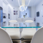 Sala da pranzo - casa moderna - Arredo su misura - Interni casa Cesena