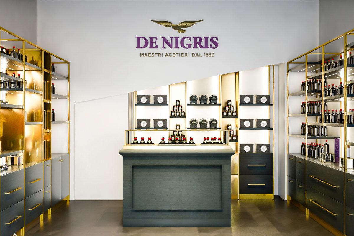 De-NIgris-Milano-Render di progetto per nuovo corner shop in Milano