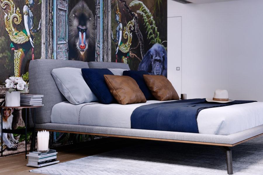 Camera da letto tropicale - Render